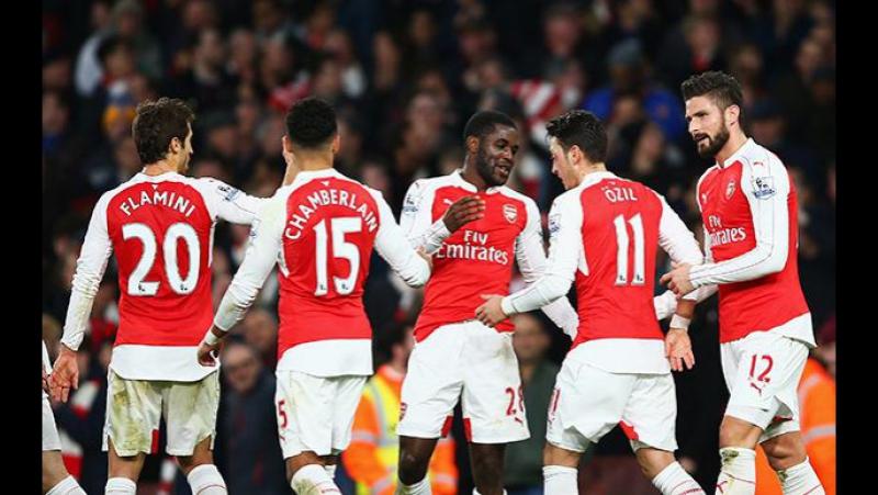 Саутгемптон - Арсенал 0-5 Кубок Англии 1/16 финала Обзор матча 28.01.2017
