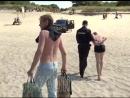 Спасенного на пляже в Балтийске мужчину пришлось заковать в наручники