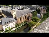 Люксембург. Вид на церковь св.Иоанна и аббатство Ноймюнстер