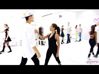 Samba de Gafieira Class with Felipe Garcia & Erica Tintel || 26.02.2017 @ dance studio «Ipanema»