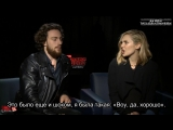 AVENGERS_ AGE OF ULTRON Interviews with Aaron Taylor Johnson  Elizabeth Olsen Rus Sub