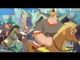 Три богатыря и морской царь 8 марта на РЕН ТВ