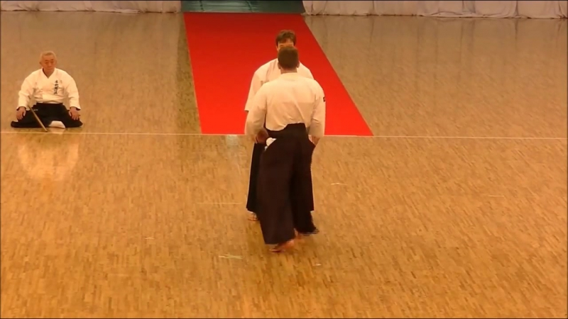 Ju Jutsu.Хонтай Йошин Рю.Демонстрация техники - 3.