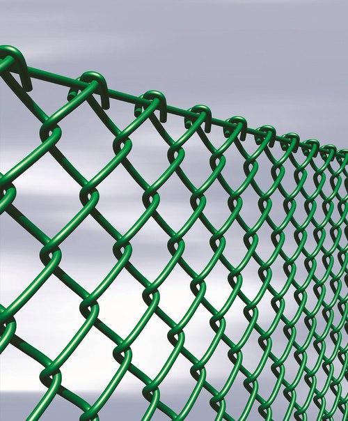 Сетка рабица полимерная зеленая