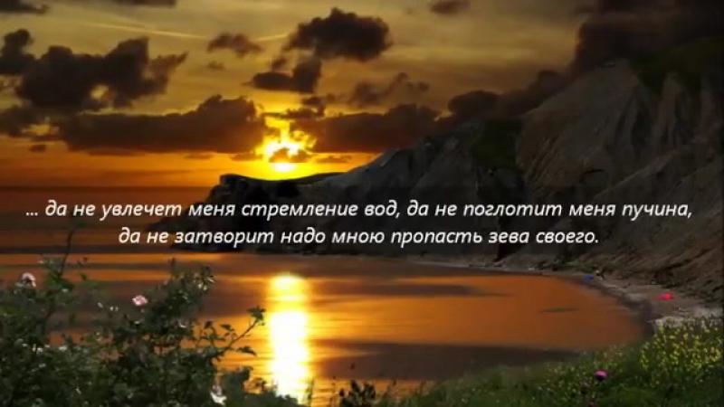 Псалом 68_Спаси меня, Боже, ибо воды дошли до души моей