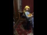 моя доченька, будущая поп звезда