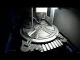 Процесс фрезерования диска