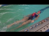Екатерина Крещ., первые 25 м, 6 занятие