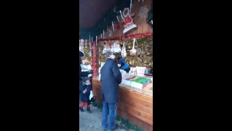 Різдвяний ярмарок. Познань