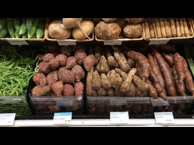 Продуктовый магазин в США Америке Wholefoods