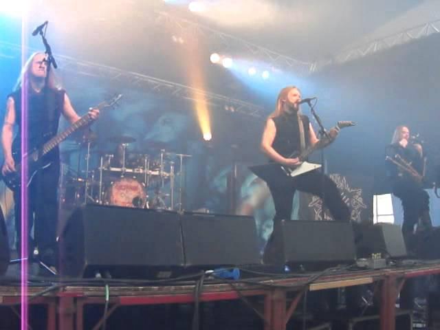 Metsatöll-Kivine Maa and Vaid Vaprust live at Durbuy rock festival 2013