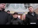 Мітинг проти постанови Укрзалізниці конотопці пригрозили перекрити колії