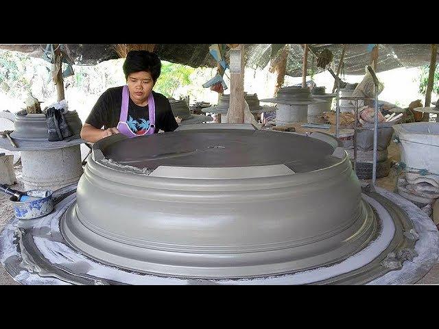 Как в Тайланде на ферме делают горшки для адениумов