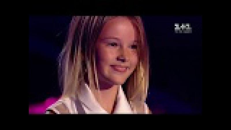 Daneliya Tulyeshova - Stone Cold - Blind Audition - The Voice Kids Ukraine