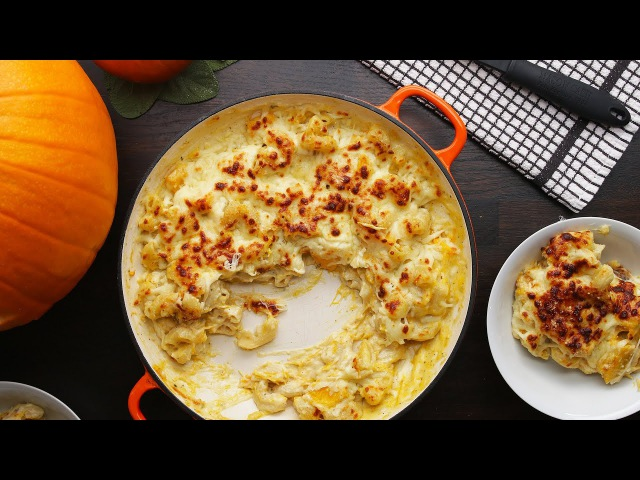 Emma's Pumpkin Mac 'N' Cheese