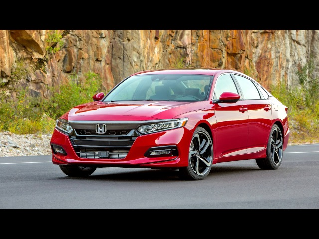 2018 Honda Accord Sport 2 0T North America 2017