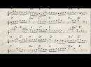 John Coltrane jazz tenor sax solo - Giant Steps - how to play it - Bb transcription