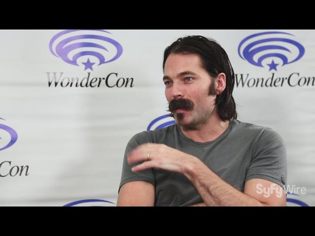 Wynonna Earp's Tim Rozon on the LGBT Audience, Season 2, Writing the Wynonna Comic