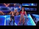 Nikki Bella Natalya Falls Count Anywhere Match SdLIVE Maryse
