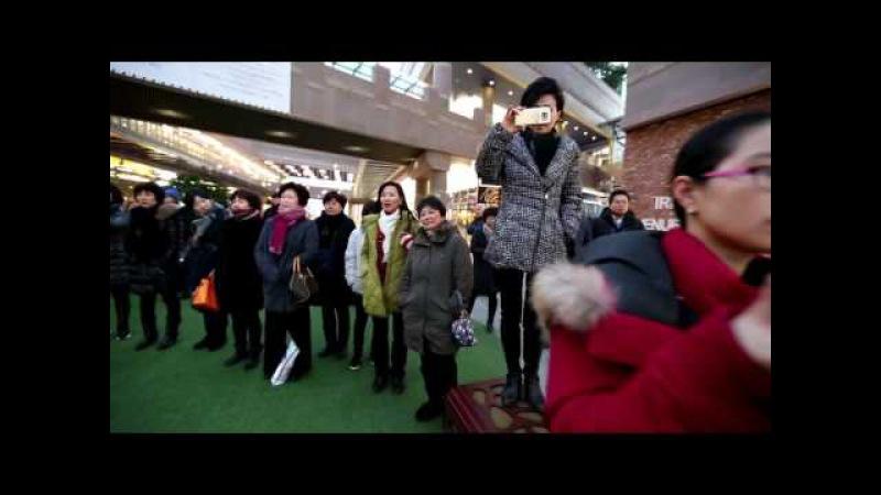 경기연회 목회자합창단 플래시몹 (Flash Mob)