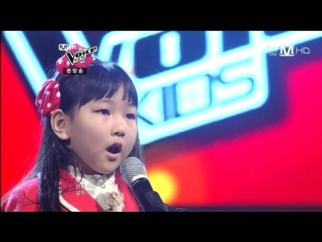 보이스 키즈 엠넷 보이스 키즈 Mnet The Voice Kids 박예음 Park Ye Eum 비행소녀 Fly girl