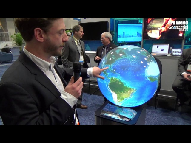 Pufferfish Spherical Display System Integrates Esri ArcGIS Runtime