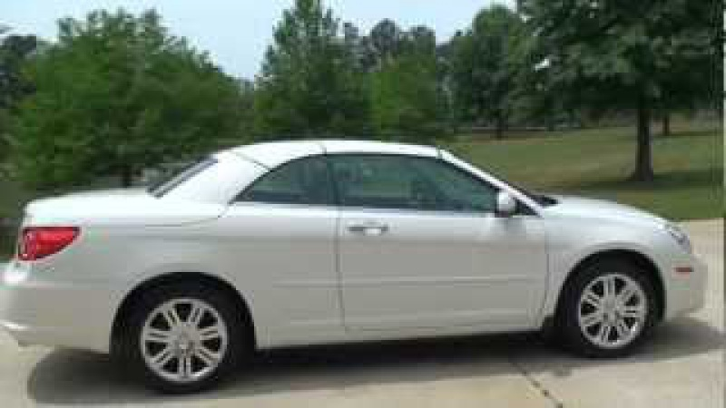 2008 CHRYSLER SEEBRING HARD TOP CONVERTIBLE LIMITED FOR SALE SEE WWW SUNSETMILAN COM