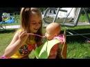 Кукла Беби Бон видео утро КАК МАМА готовим для кукол Baby Born
