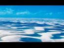 Белоснежные песчаные дюны Бразилии Snow white sand dunes of Brazil