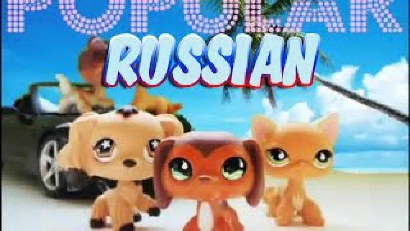 Littlest Pet Shop: Popular (Episode 1 Кто эта девчонка) RUS (Русская озвучка)