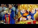 Lionel Messi y Neymar rinden homenaje a Dragon Ball - Cartoon funny