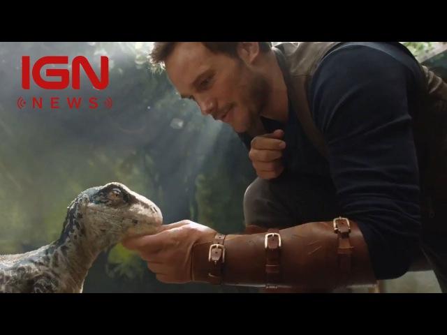Jurassic World 2 Clip Teased on Twitter IGN News