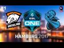 VP vs NewBee RU #1 (bo3) ESL One Hamburg 2017 Major 29.10.2017