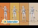 Blender Human Meta Rig Clear HD tutorial 2 78