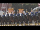 Кавалерийский почетный эскорт Президентского полка на фестивале Спасская башн...