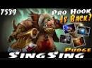 SingSing Pudge Pro Hook Is Back - Dota 2