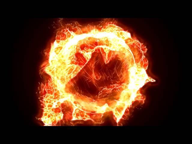 Танец огненной стихии футаж