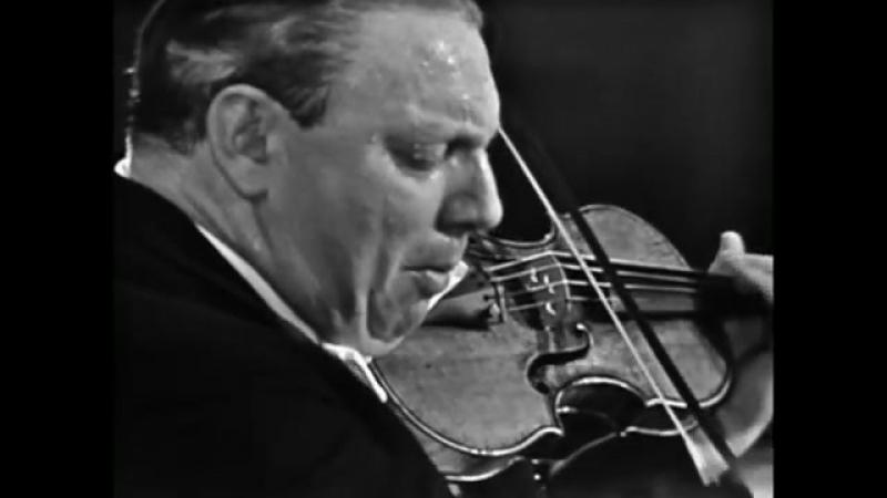 Isaac Stern Geminiani Sonata Paris 1965