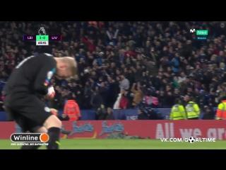 Лестер - Ливерпуль 3:0. Джейми Варди (дубль)