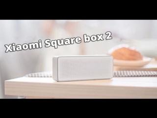 Портативная колонка Xiaomi Bluetooth Speaker Square box 2
