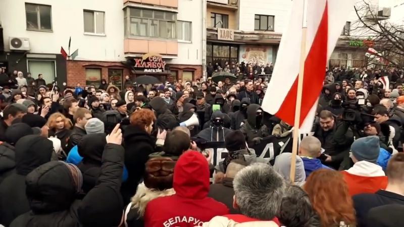 КАК БЕЛАРУСЬ ВЫКОВЫРИВАЕТ ИЗЮММарш рассерженных белорусов,митинг и гарантий нет на улучшение.