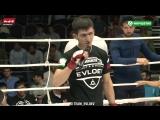 Селем Евлоев выражает благоданость после своей второй победы