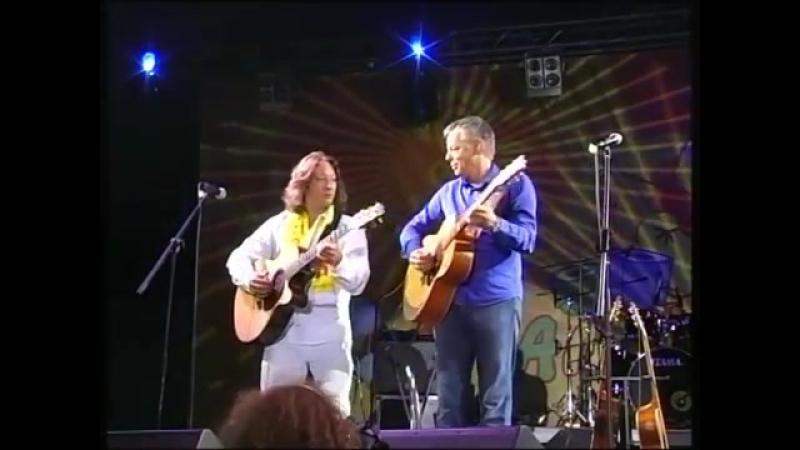 Томми Эммануэль и Тимур Ведерников.