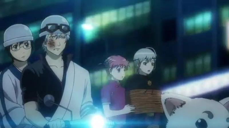 Момент из 14 серии аниме Гинтама 4 сезон / Gintama