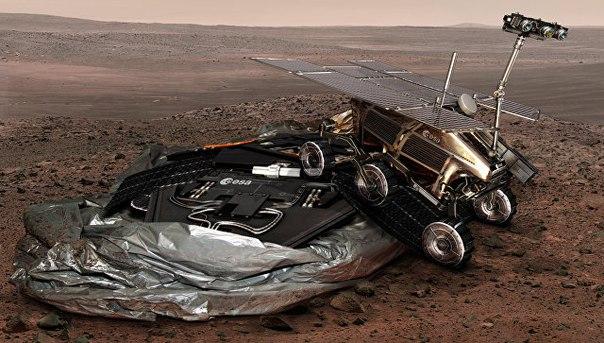 Первые испытания для экспедиции ExoMars-2020 начнутся не ранее 2018 года