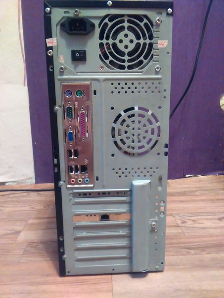 Продам 2-х ядерный компьютер процессор Intel Core 2 Duo E7500, 3Gb Па
