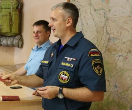 Начальника Архызского поисково-спасательного отряда наградили за добросовестное исполнение служебных обязанностей