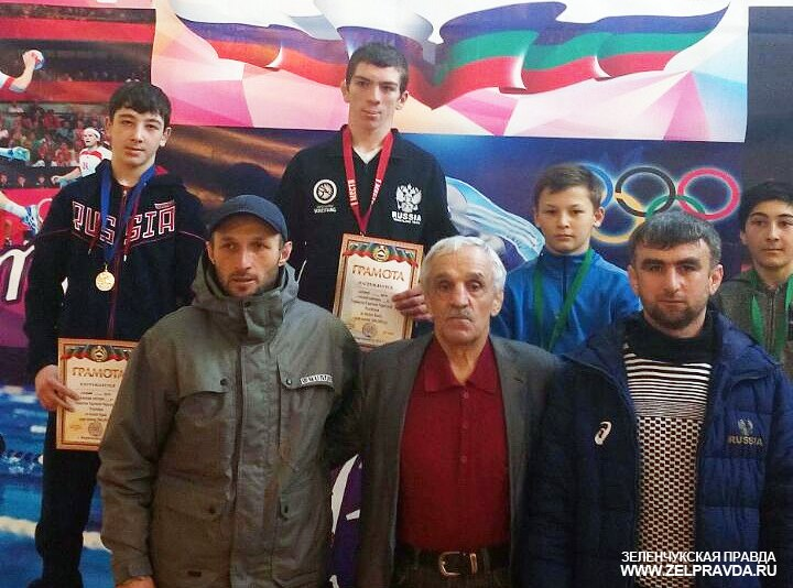 Вольник из Сторожевой стал золотым призером первенства в Карачаевске