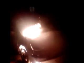 В ночь на 30 марта 2017 по адресу ул.Первомайская д.49 сгорел автомобиль Toyota Prius.