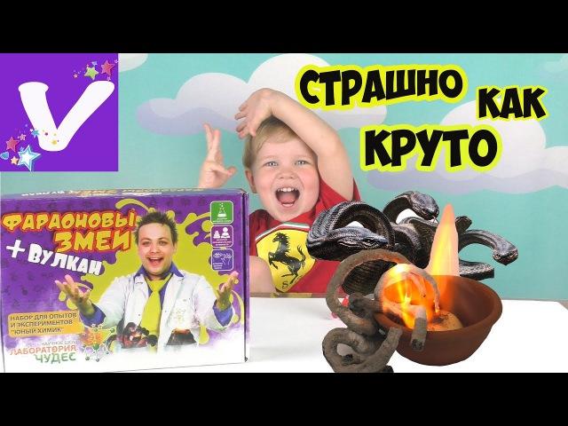 ЗМЕИ из ОГНЯ дома Крутой ОПЫТ с Фиксиком Инновации для детей